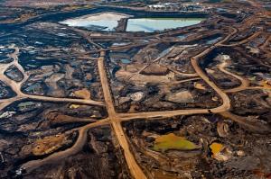 Tar Sands Open Pit Mine