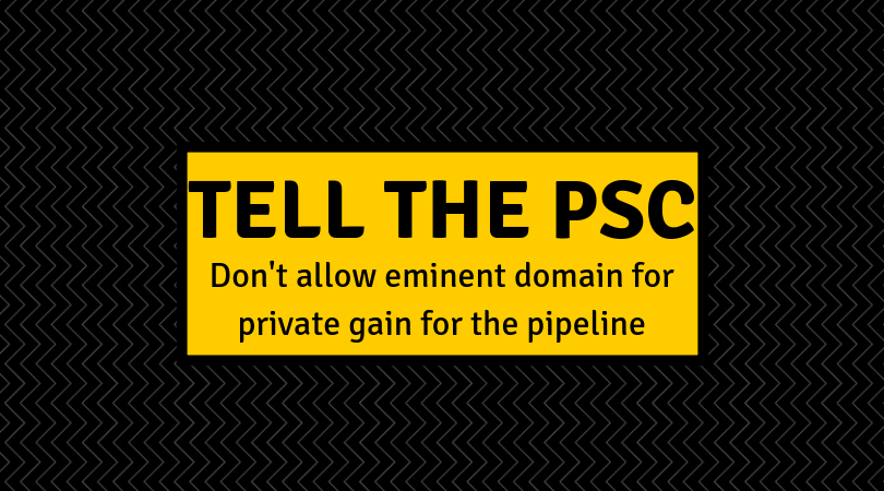 tell the PSC
